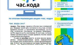 Альманах «Час Кода» от юных журналистов